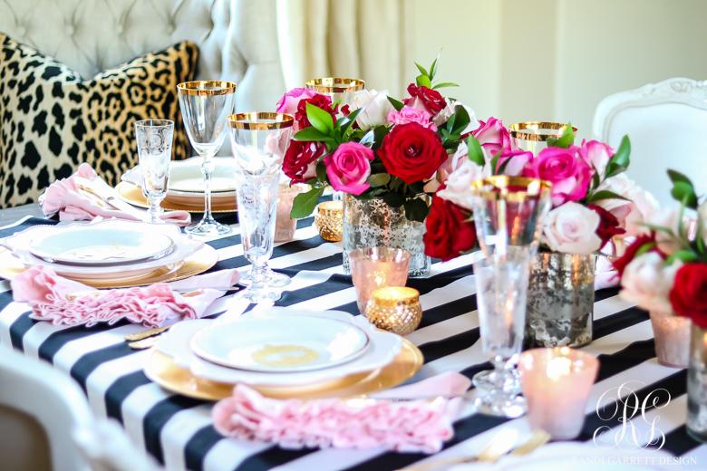 Chic Galentine S Day Table For Valentine S Day Randi Garrett Design