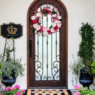 How to Brighten Your Porch For Spring – Styled for Spring Home Tour