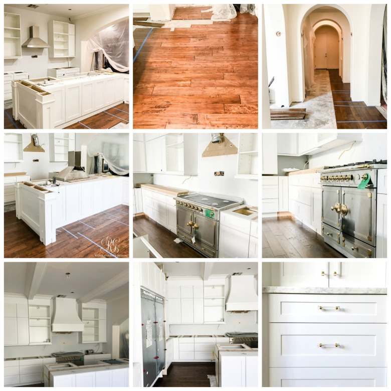 White Kitchen Remodels Before And After: Elegant White Kitchen Remodel