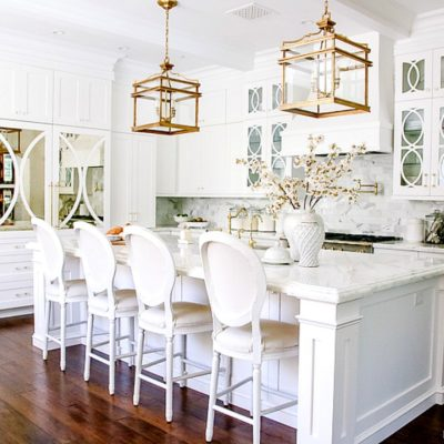 Dark to Light Kitchen Before and After – Elegant White Kitchen Reveal