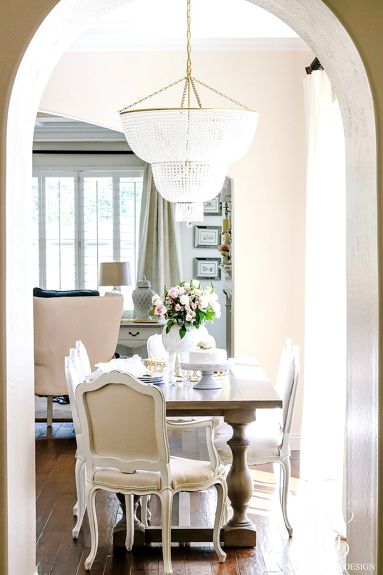 Transitional Kitchen Nook Remodel Styled For Spring