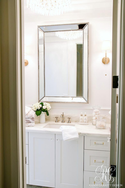 5 stylish ways to make your bathroom feel custom for Custom made mirrors for bathrooms