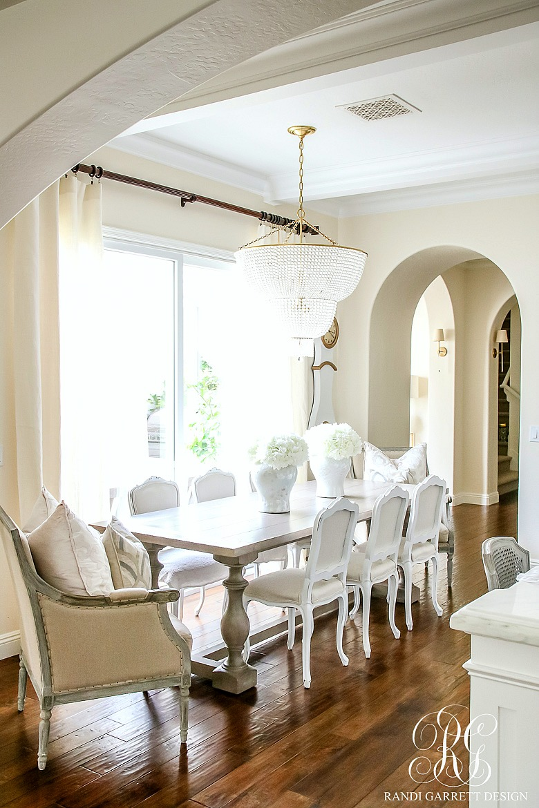 Simple Dining Room Decor For A Transitional Season: 30 Tips For Summer Decorating