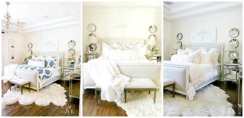 I Styled Our Master Bedroom 3 Diffe Ways For Summer To Show You How Using These Neutral Pieces As Your Backdrop Will Allow Transform The Feel Of