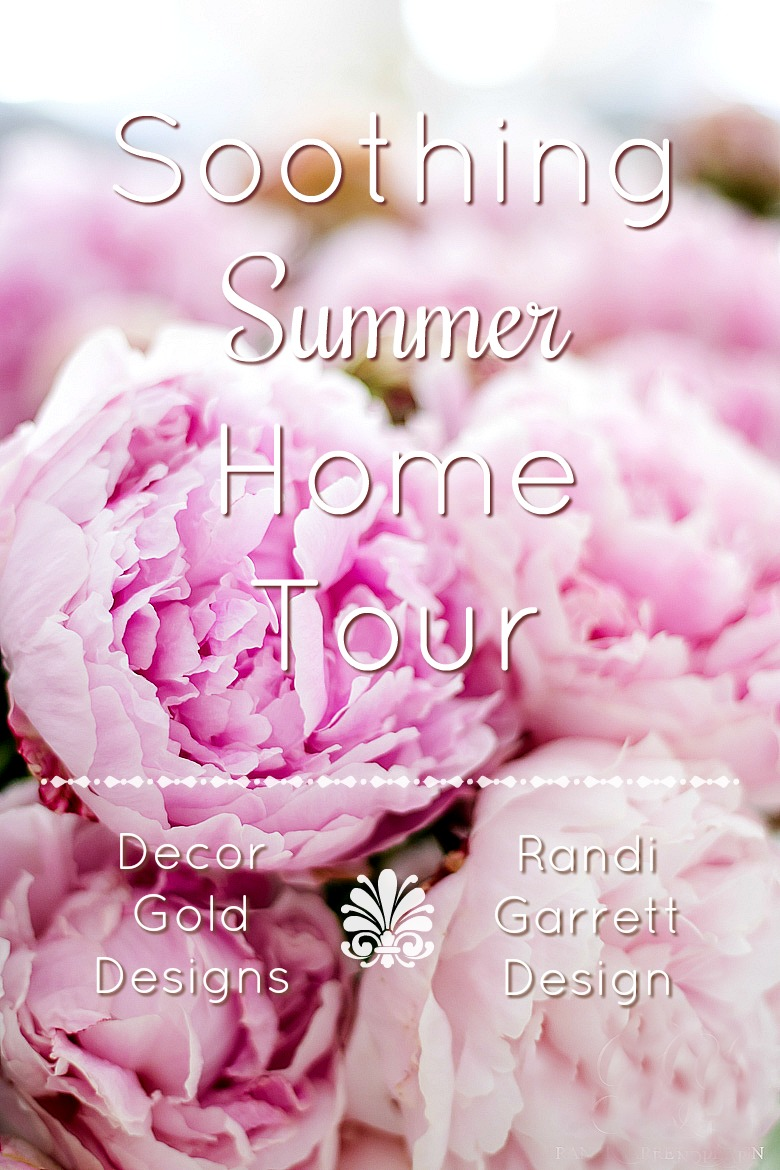 Soothing Summer Home Tour 2017 - Neutral Transitional Home Decor