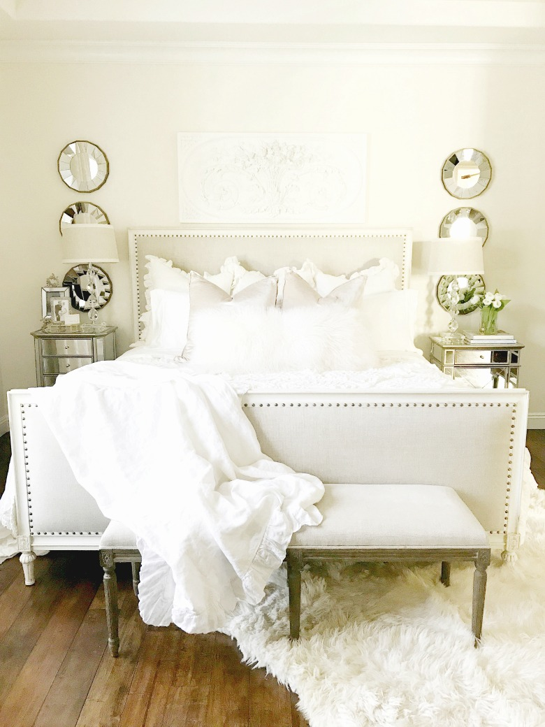 Tips For Decorating A White Bedroom