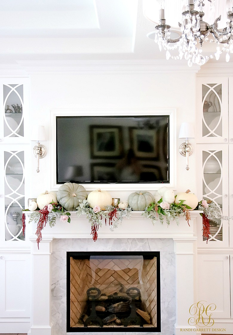 Fall Decor Tips Home Tour Randi Garrett Design: how to decorate your house for thanksgiving