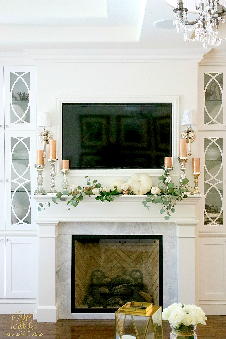 100 8 Fabulous Fall Mantel Ideas 50 Absolutely