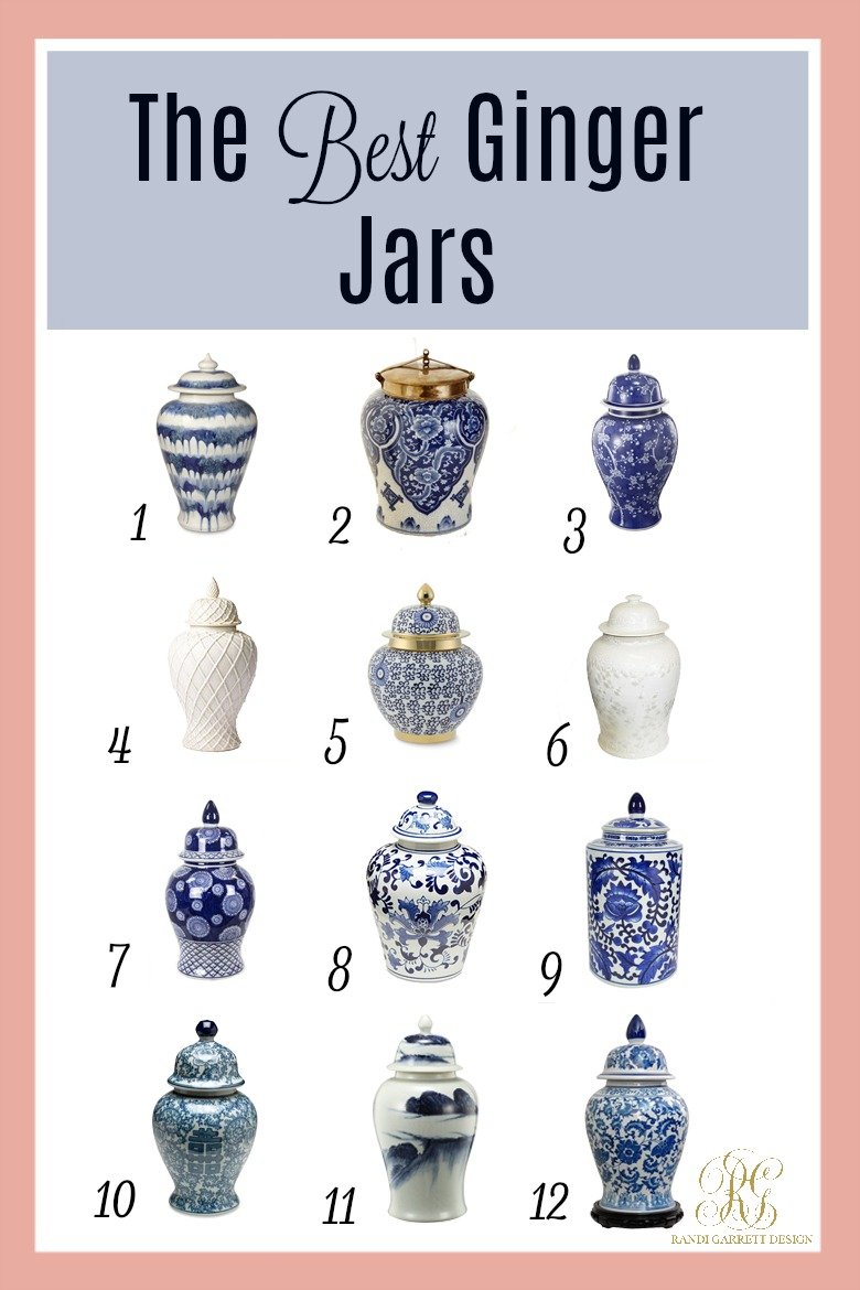 One Of The Best Things About Styling With Ginger Jars You Can Mix Pattern And Color Anything Goes When Putting These Beauties Together