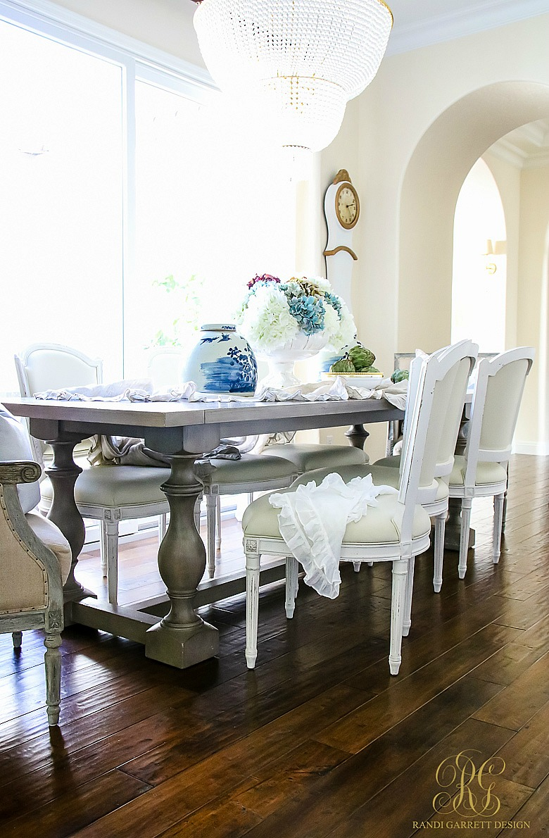 Fall Decor Ideas - 5 Spaces to Dress your Home for Fall - fall kitchen table