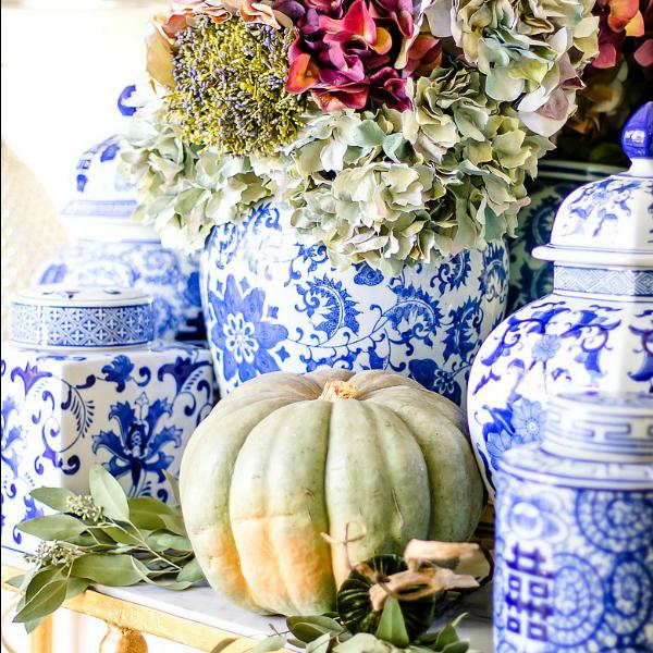 Fresh Ideas for Fall Home Tour – Elegant Fall Decor