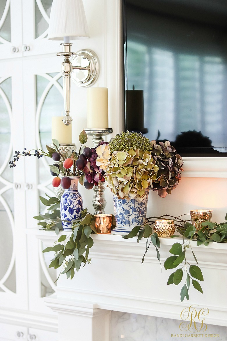 Fall Decor Ideas - 5 Spaces to Dress your Home for Fall - fall mantelscape