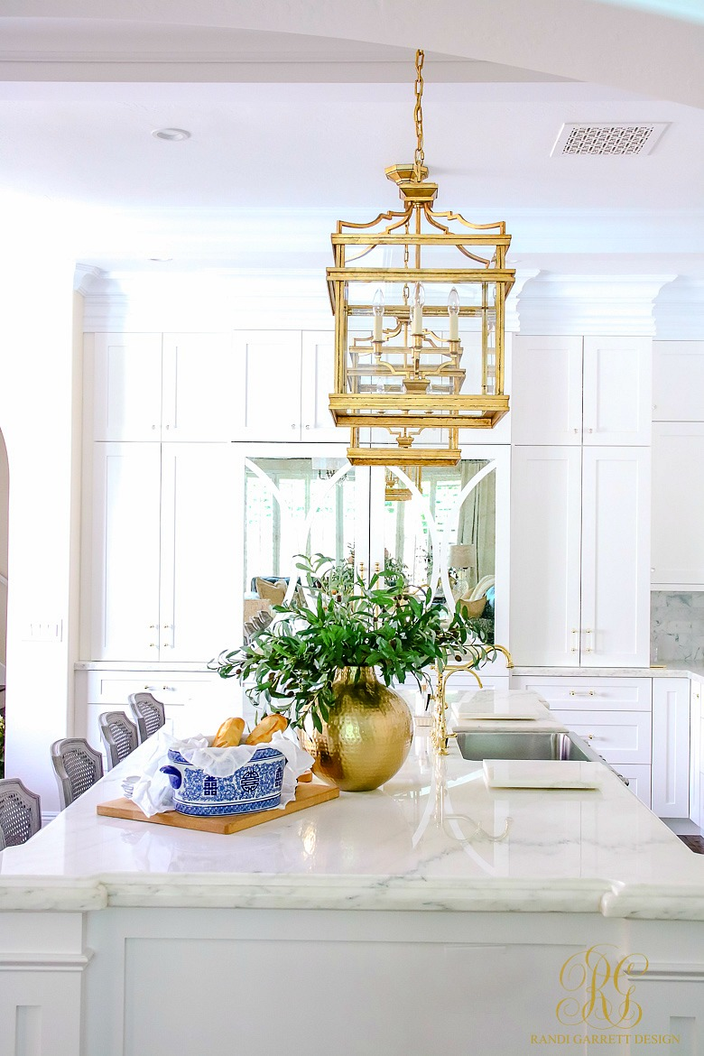 Fall Decor Ideas - 5 Spaces to Dress your Home for Fall - white kitchen styled for fall
