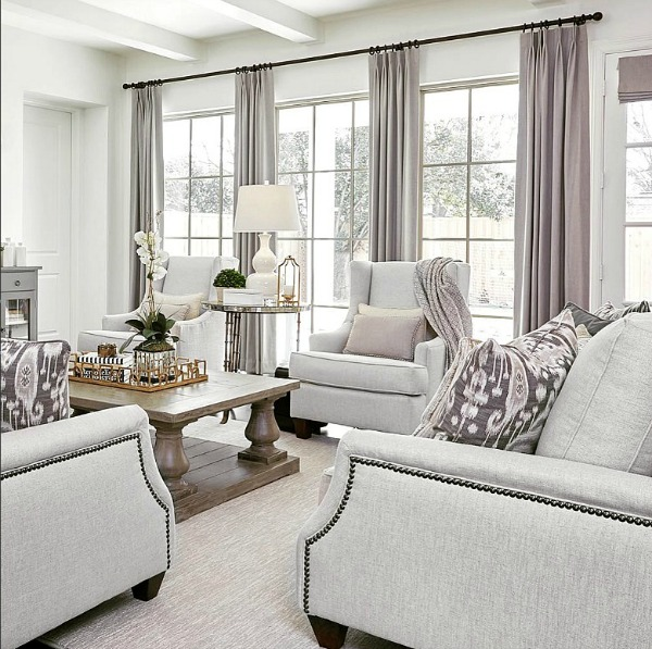 Family Room Makeover with A Well Dressed Home