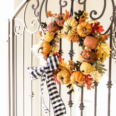 3 Days of Halloween – Tips to style your Porch + Entry