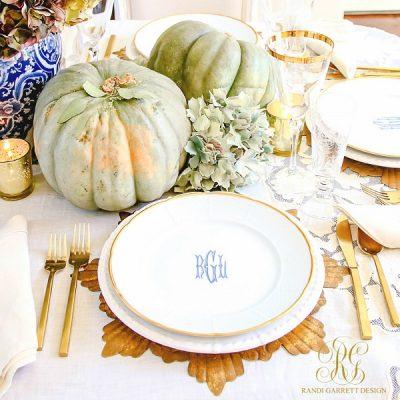 10 Gorgeous Thanksgiving Table Scape Ideas