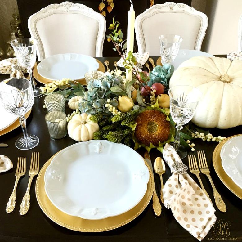 Gorgeous thanksgiving table scape ideas randi garrett