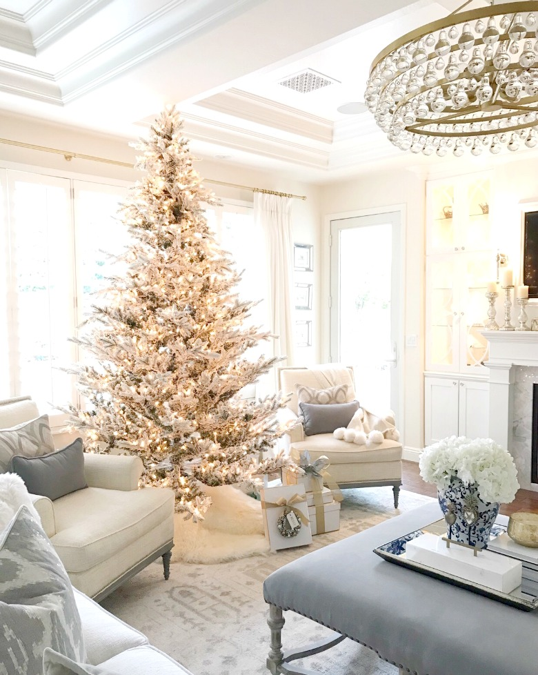 christmas decor tips tour 5 ways to make your decor look fresh every year - Elegant White Christmas Decorations