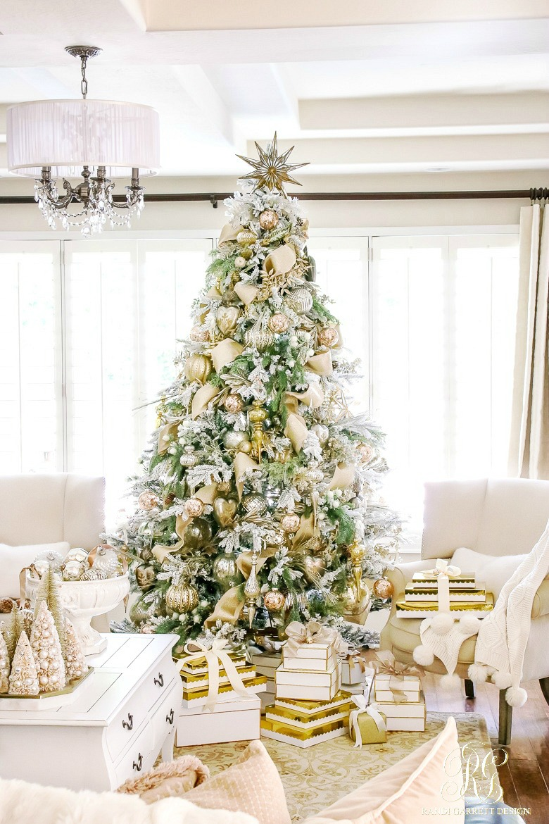 come back next week to see how i decorated our home for christmas this year click here to see our home tour from last year - White And Gold Christmas Decorations