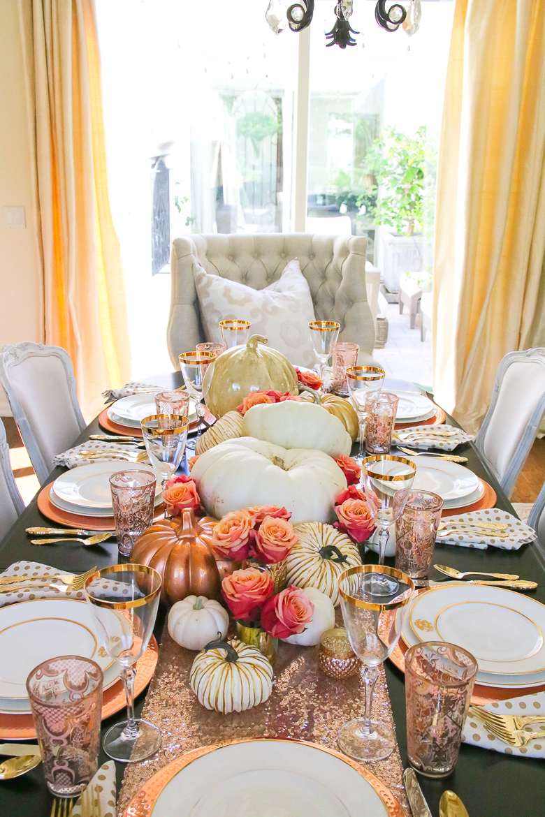10 Gorgeous Thanksgiving Table Scape Ideas Randi Garrett