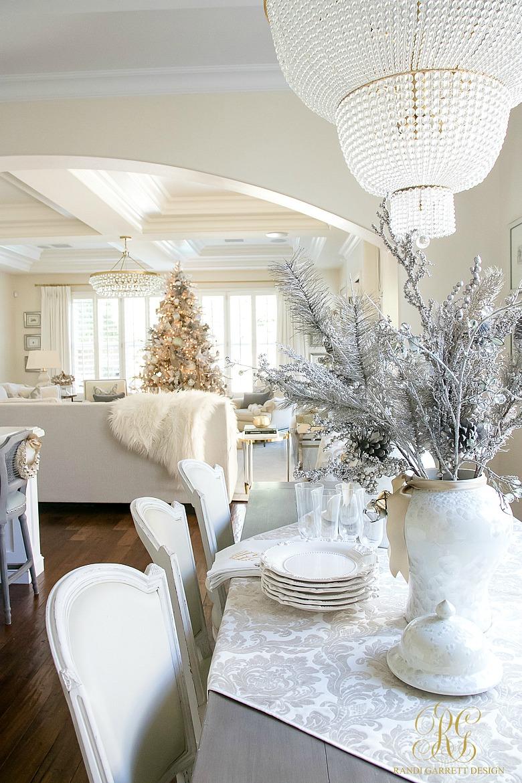 Christmas Home Tour 2017 - Silver and Gold Christmas - Randi Garrett ...