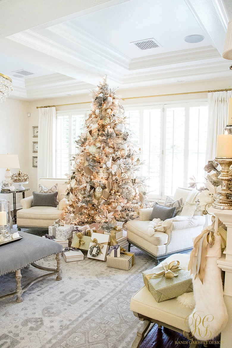 Simply Christmas Home Tour Winter Wonderland Bedroom Randi Garrett Design