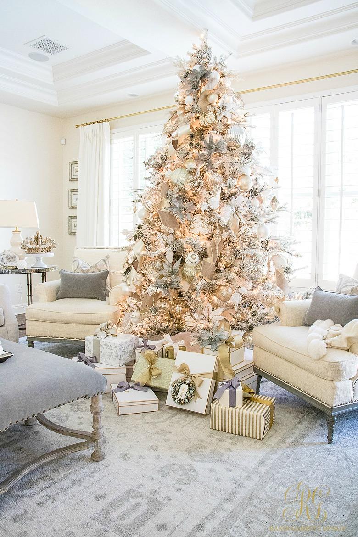 Cool Christmas Tree Decorating Ideas.Christmas Decor Randi Garrett Design