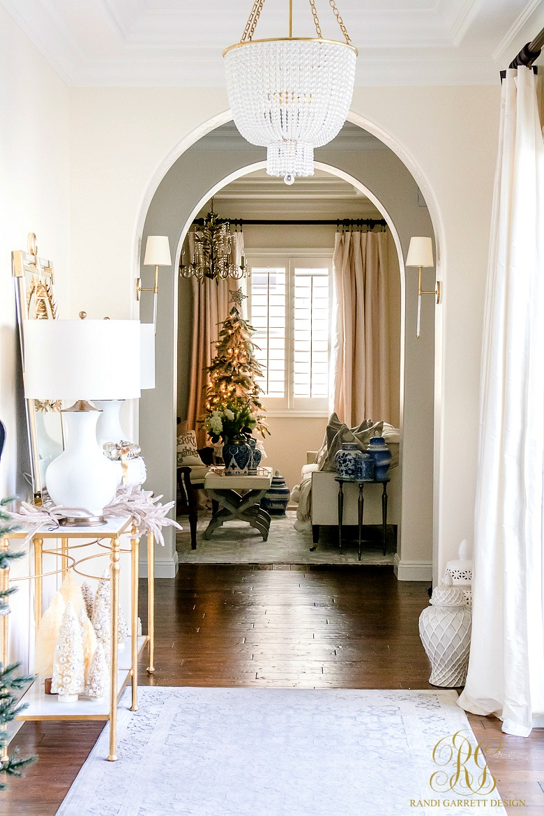 Christmas Home Tour 2017 - Silver and Gold Christmas
