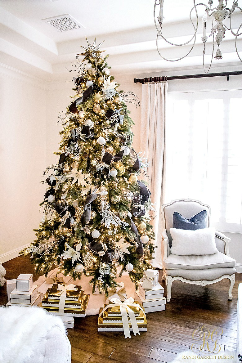 Tips For Trimming Your Christmas Tree Like A Pro Randi Garrett Design