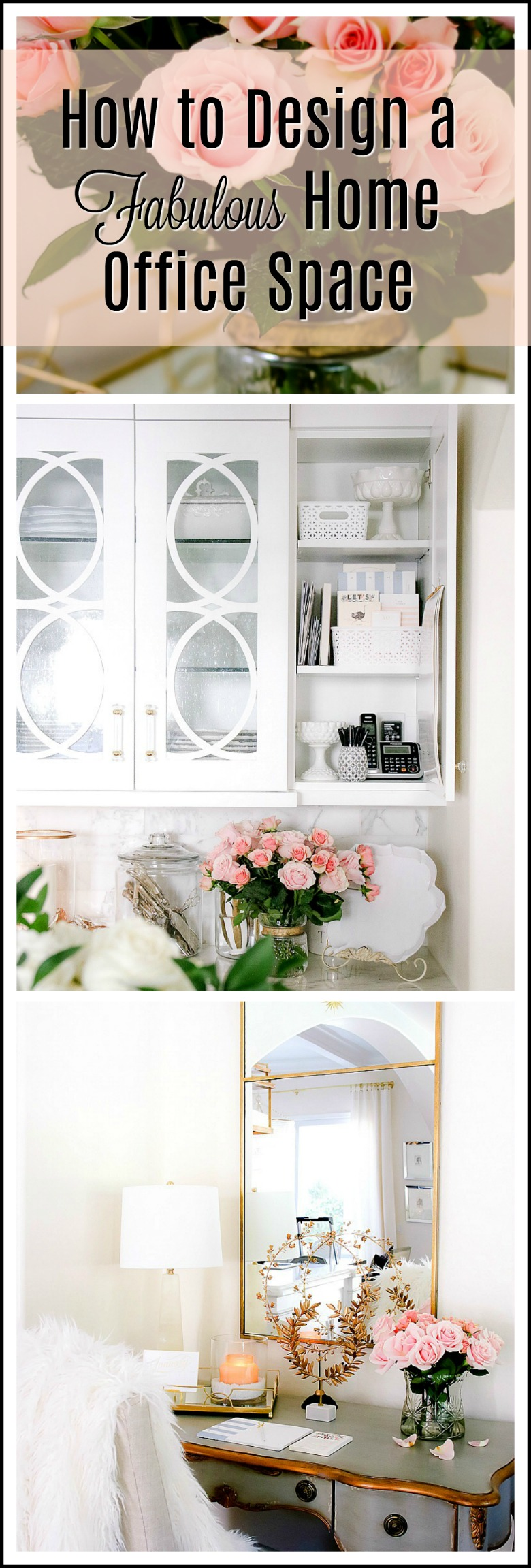 How to Design a Fabulous Home Office Space - Randi Garrett Design