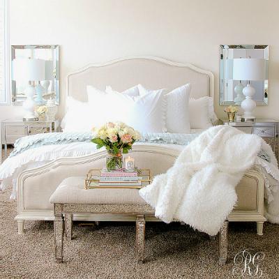 Elegant Master Bedroom Makeover – Dark to Light
