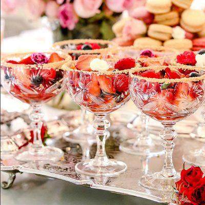 Elegant Fruit Cups with Vanilla Citrus Sauce Recipe