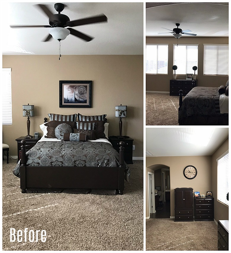 bedroom makeover before and after master bedroom makeover to light randi 18177