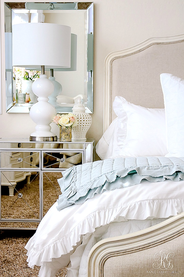 Elegant Master Bedroom Makeover Dark To Light Randi Garrett Design