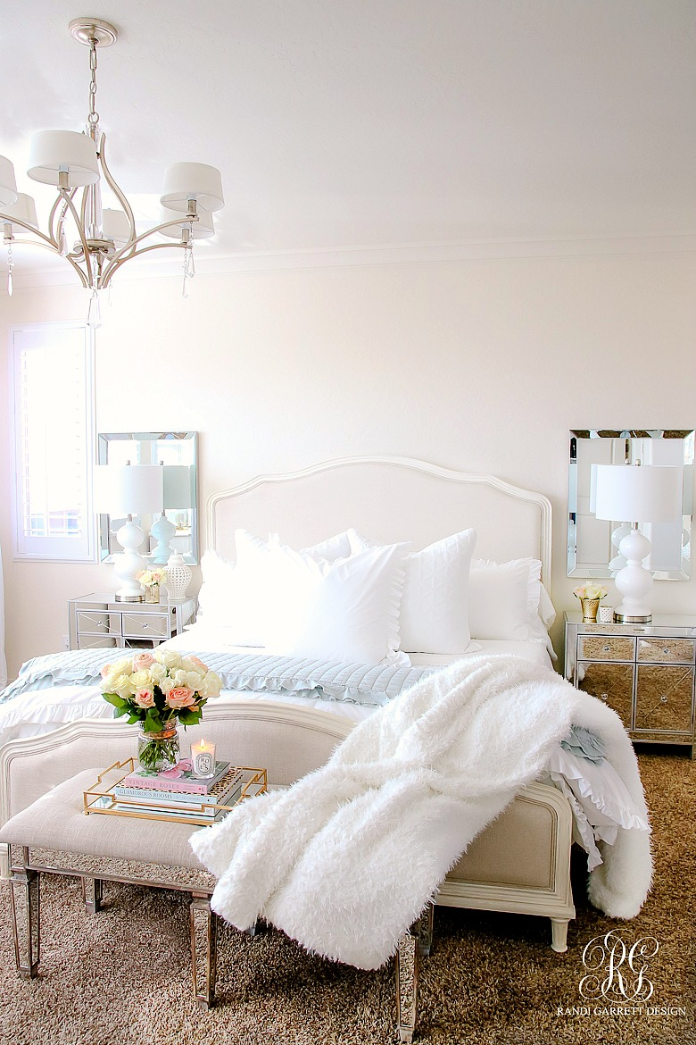 Master Bedroom Makeover After: Elegant Master Bedroom Makeover