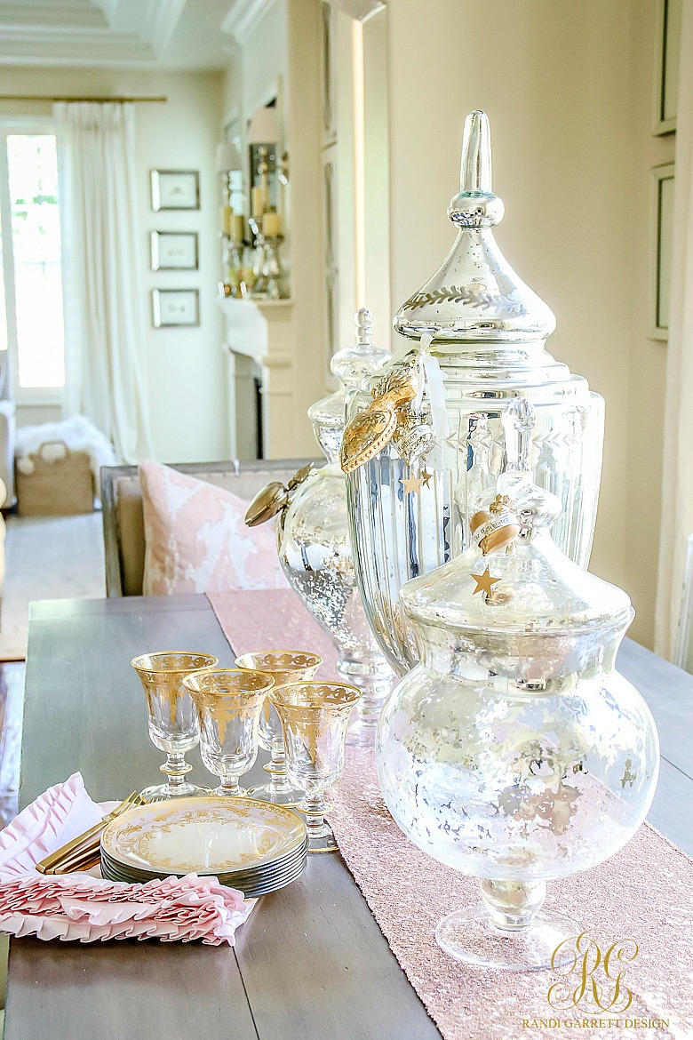 Romantic Valentine\'s Day Home Tour + Styling Tips - Randi Garrett Design