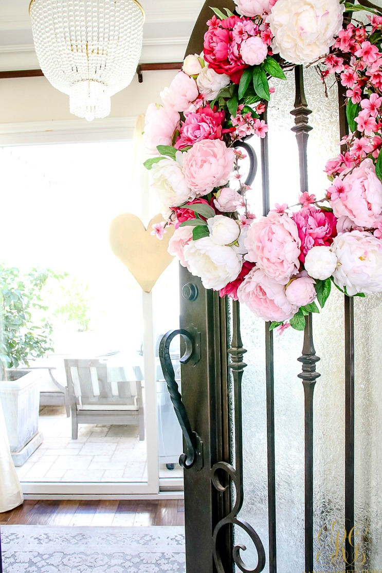 Romantic Valentine's Day Home Tour + Styling Tips