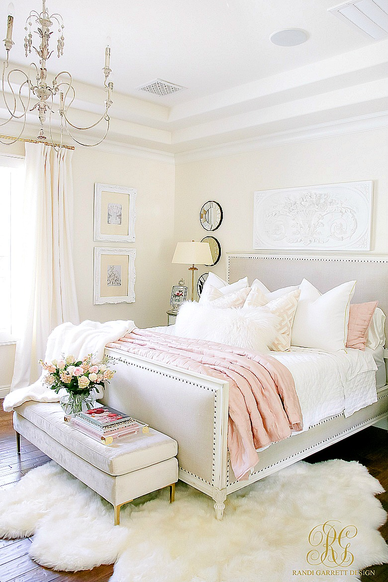 glam bedroom ideas glam blush gold bedroom randi garrett design 11696
