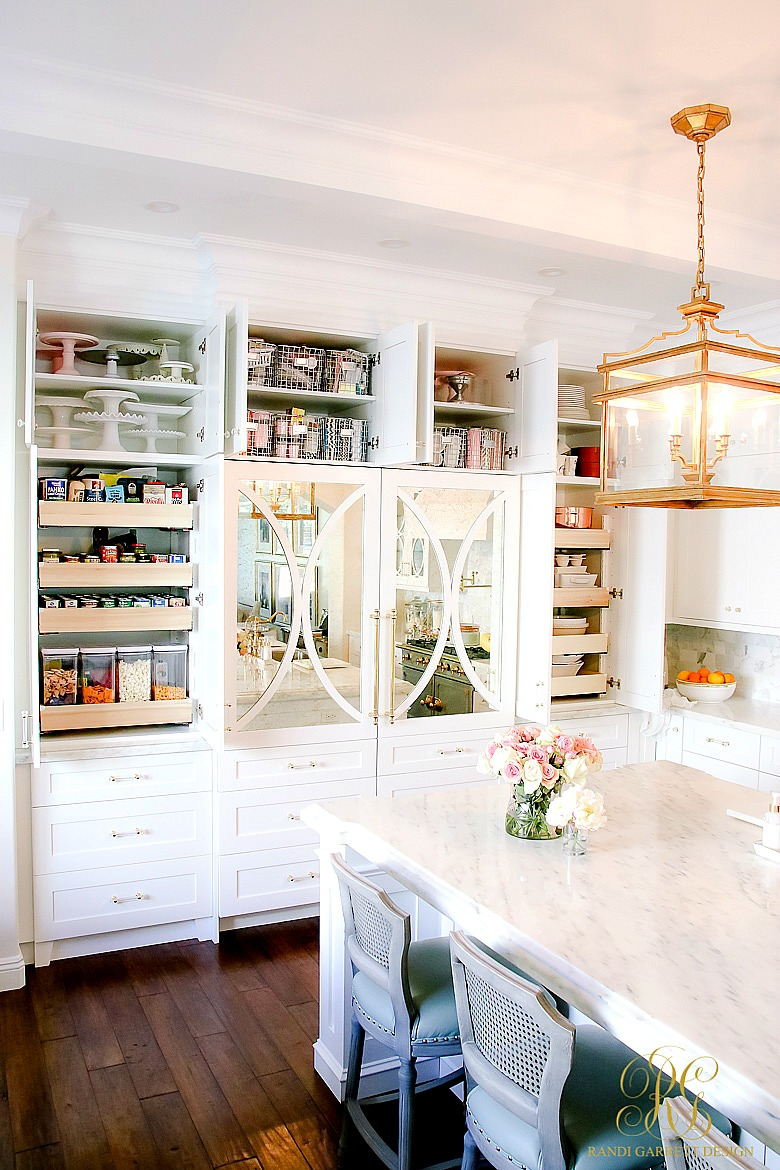 Spring Cleaning Kitchen Cabinet Organizing Tips - Randi Garrett Design