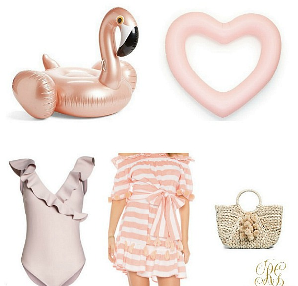 Swim Essentials you will Love – Swimsuits, Coverups, Totes + Floats