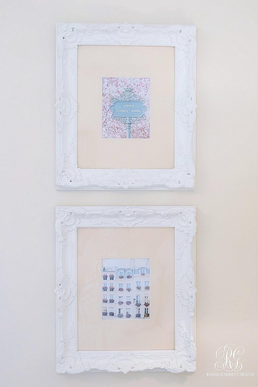 Paris art prints - summer bedroom ideas