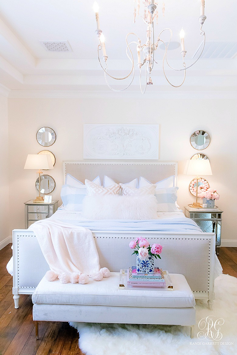 Pink + Blue Summer Bedroom - 3 simple steps for the perfect ...
