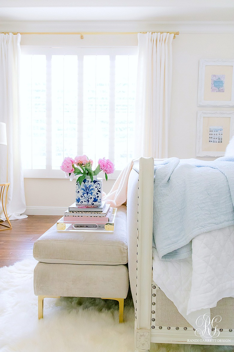 Pink + Blue Summer Bedroom - 3 simple steps for the perfect summer ...