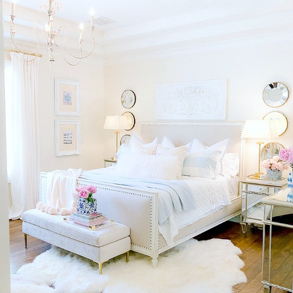 Pink + Blue Summer Bedroom  – 3 simple steps for the perfect summer bedroom