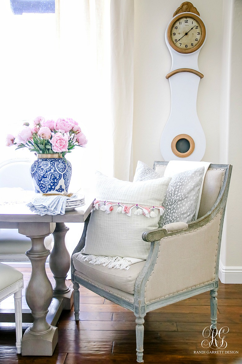 summer home tour - simple summer styling tips