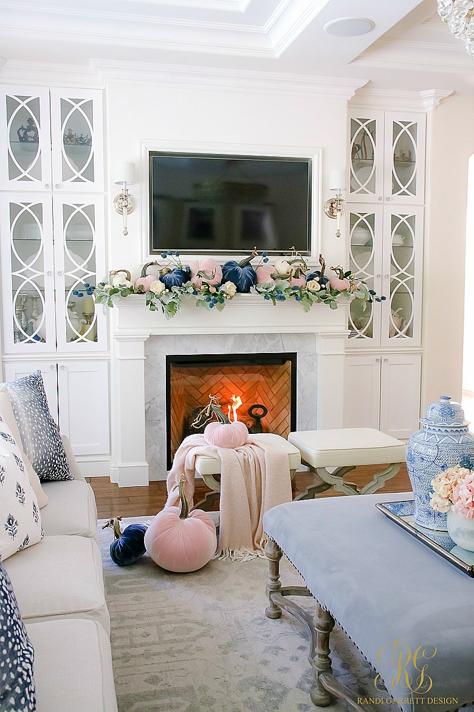 Welcoming Fall Home Tour Fall Decorating Ideas Randi Garrett Design