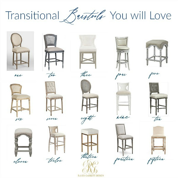 Transitional Barstools I Know you Will Love