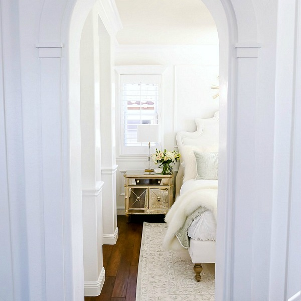 Glam Guest Bedroom Makeover