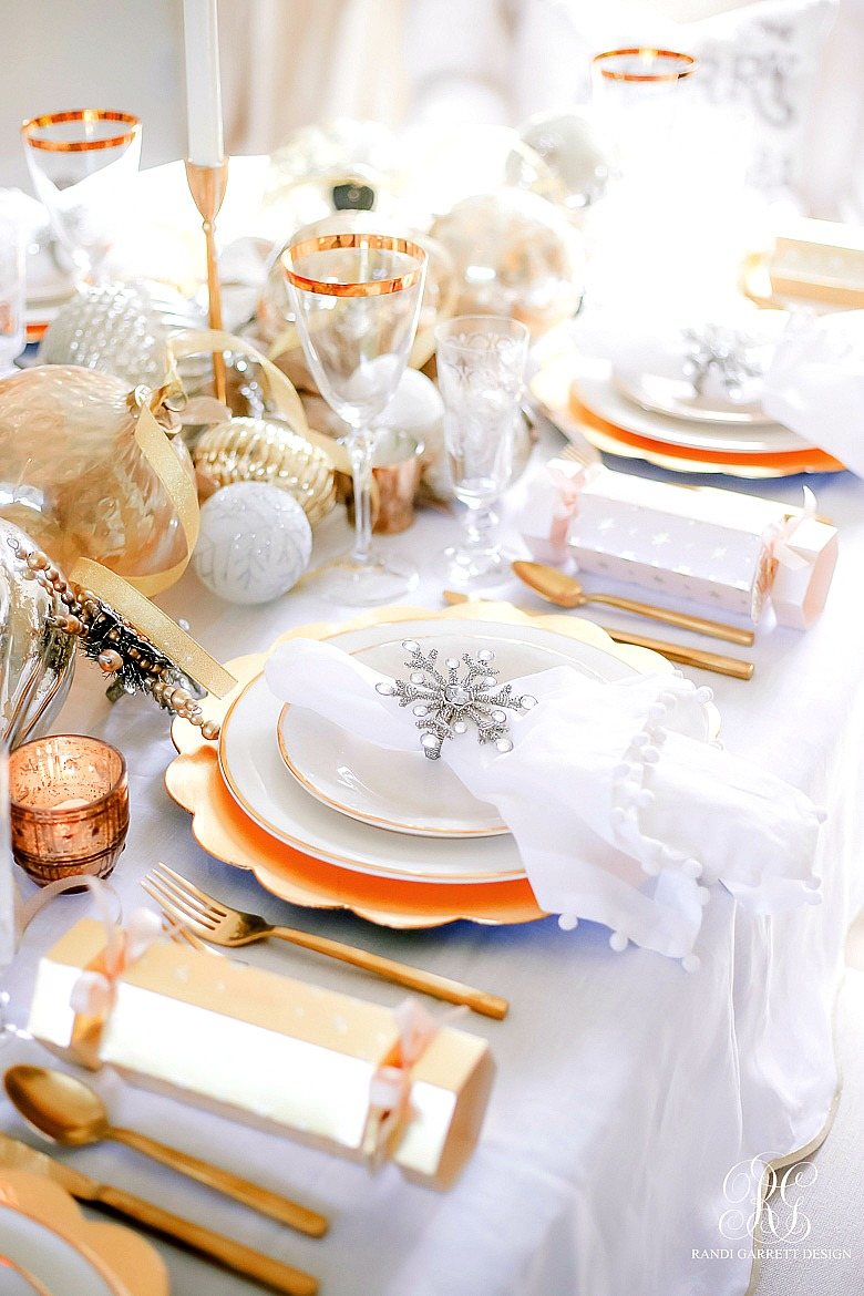 pretty Christmas table ideas