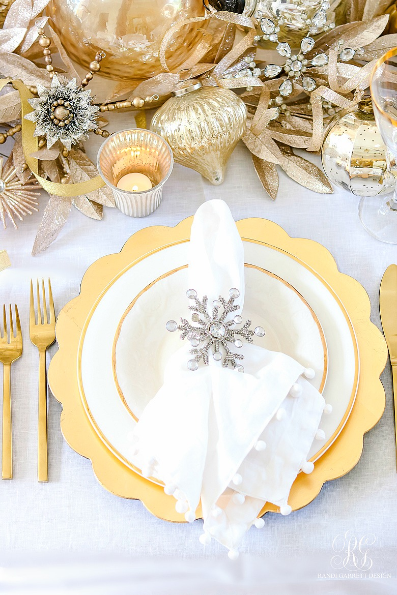 Elegant Christmas table ideas